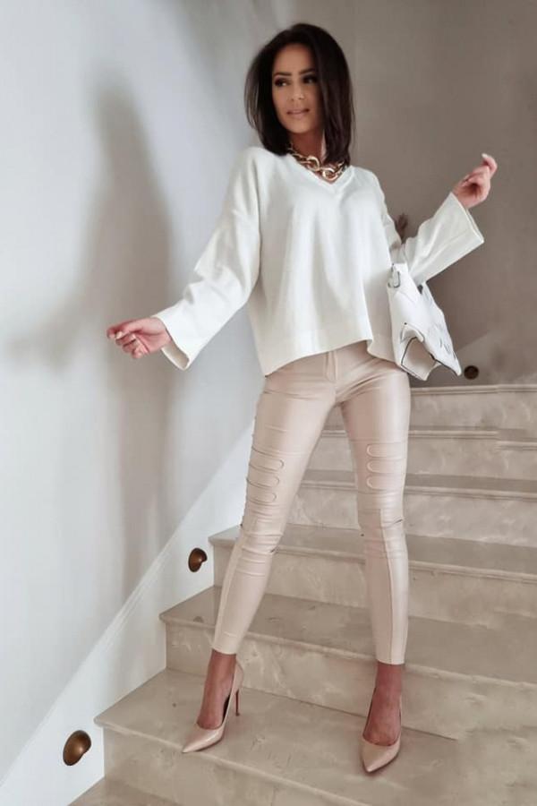 Sweterek By Me Kimono biały 1