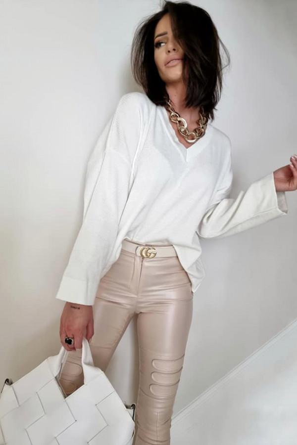 Sweterek By Me Kimono biały 2
