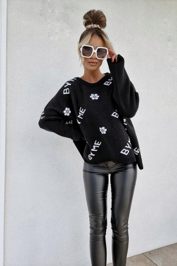 Sweter czarny By Me 1