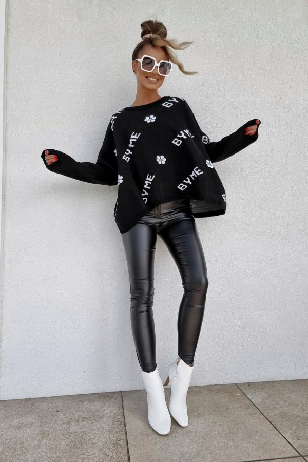 Sweter czarny By Me 2
