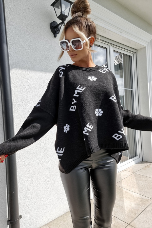 Sweter czarny By Me 3
