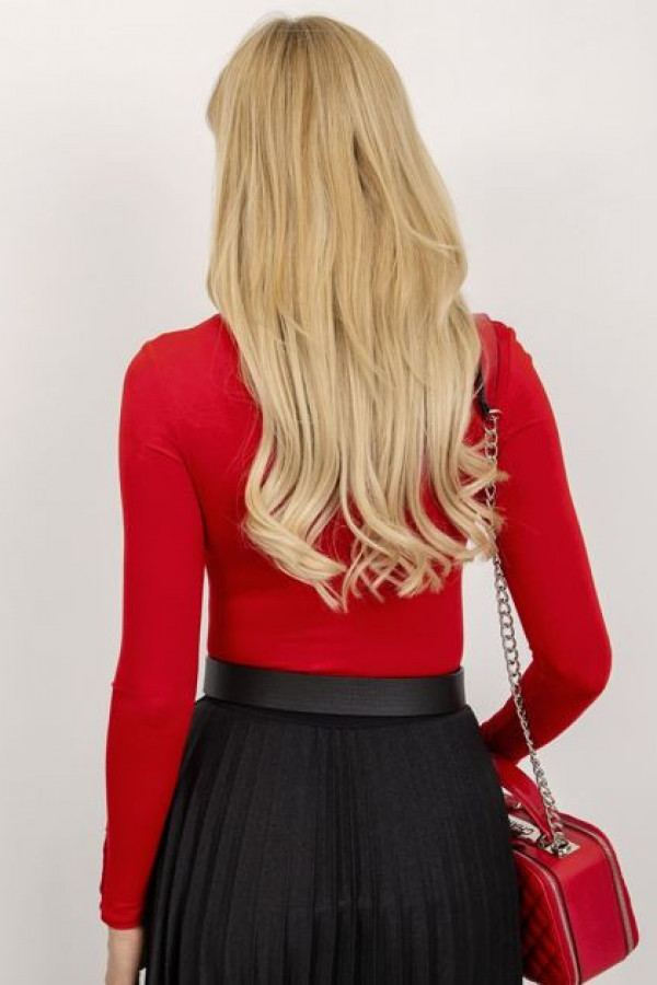 Czerwona bluzka Sweetheart 3
