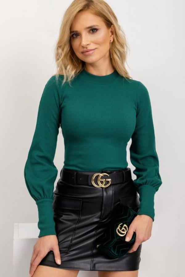 Ciemnozielona bluzka Lauren