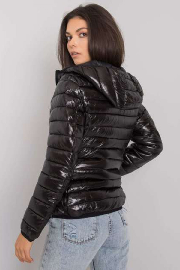 Czarna damska kurtka przejściowa Jaqueline 1