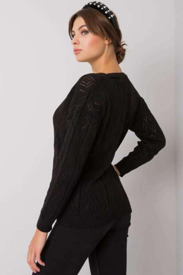 Czarny sweter na guziki Gregoire 3