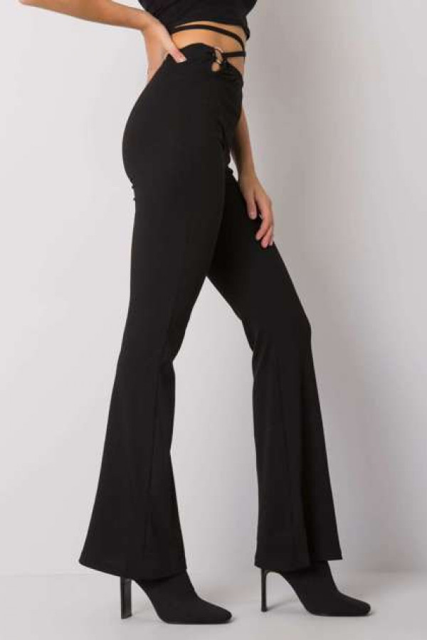 Czarne spodnie dzwony Estrella 1