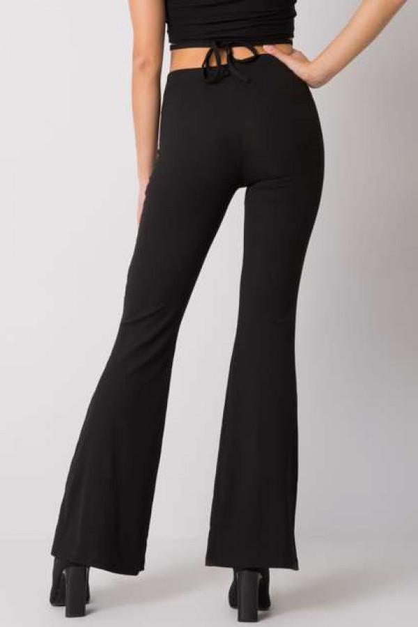 Czarne spodnie dzwony Estrella 2