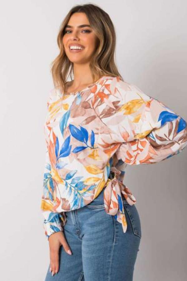Beżowa bluzka oversize Chellise 1