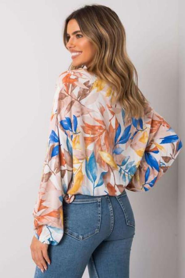Beżowa bluzka oversize Chellise 2