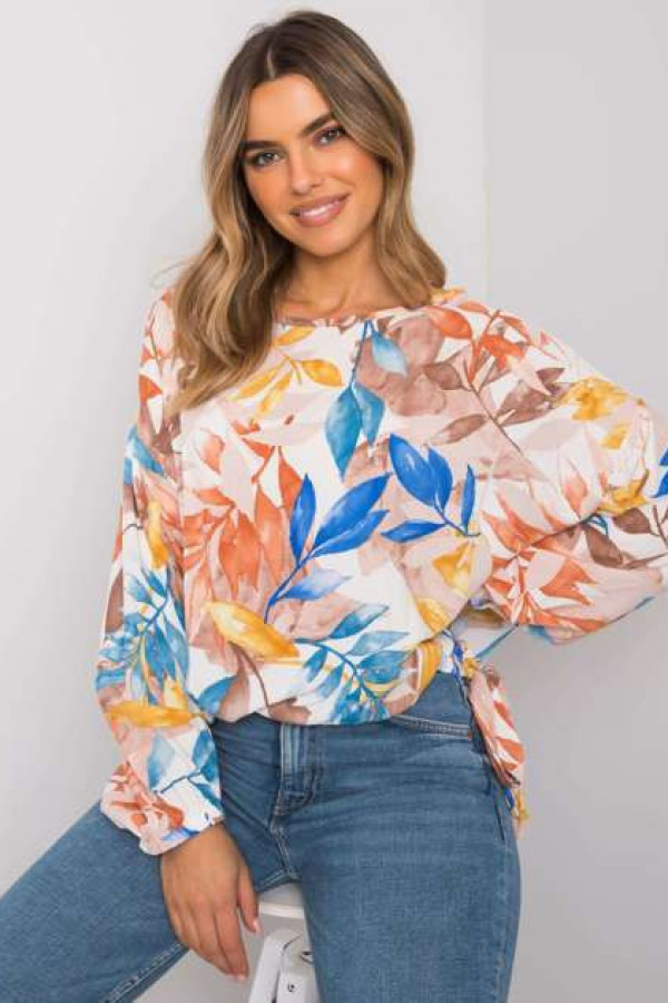 Beżowa bluzka oversize Chellise 3