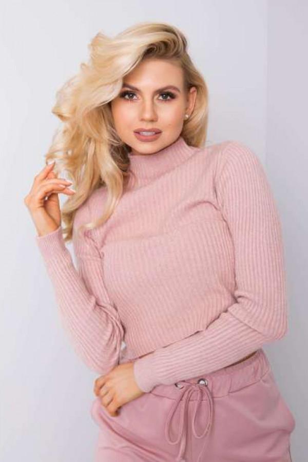 Brudnoróżowy sweter Tess