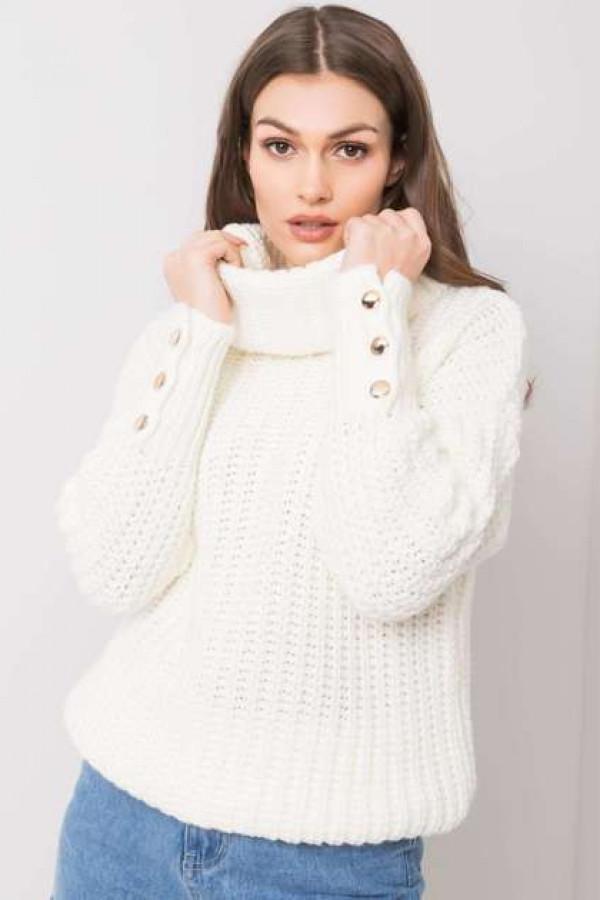 Ecru sweter Enid