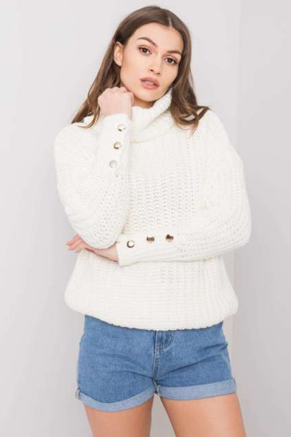 Ecru sweter Enid 3