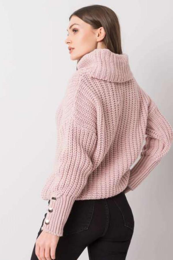 Brudnoróżowy sweter Enid 3