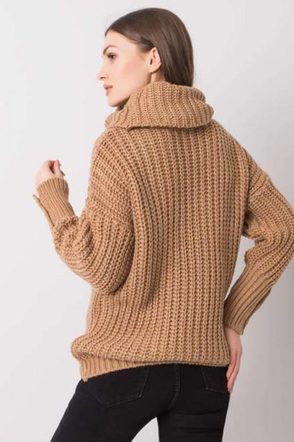 Camelowy sweter Enid 3
