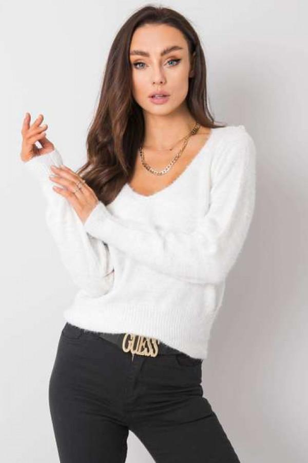 Biały sweter Giulia