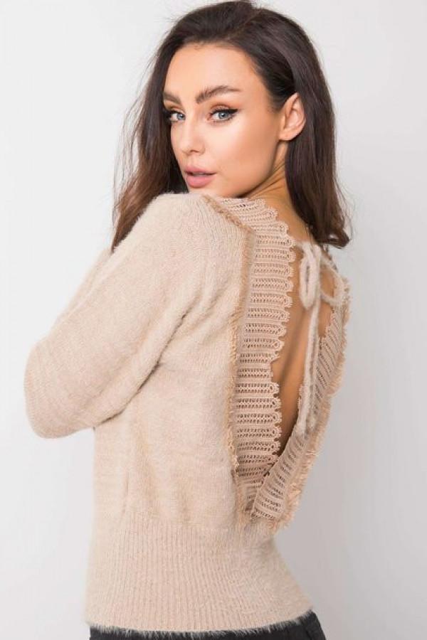 Beżowy sweter Giulia