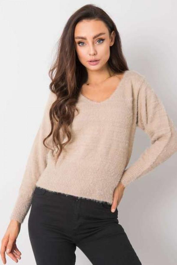 Beżowy sweter Giulia 1