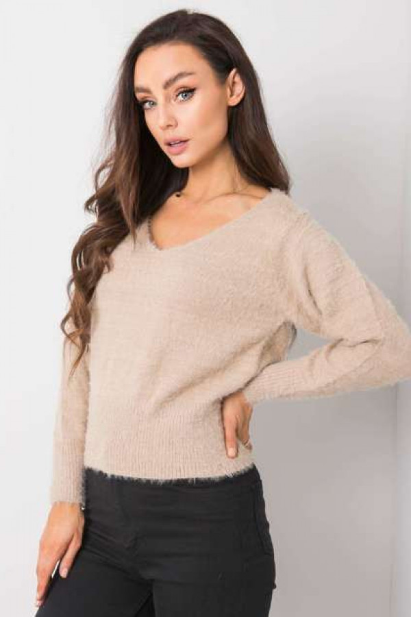 Beżowy sweter Giulia 2