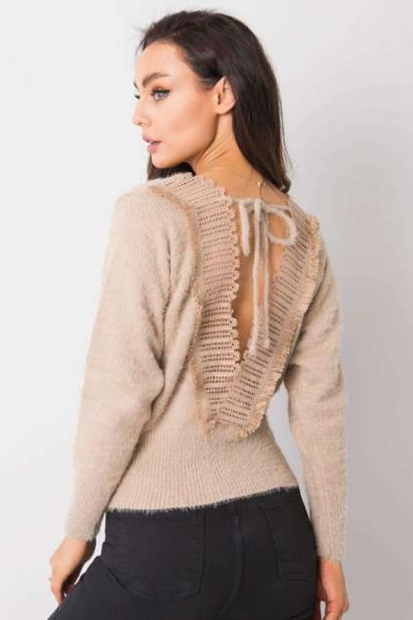 Beżowy sweter Giulia 3