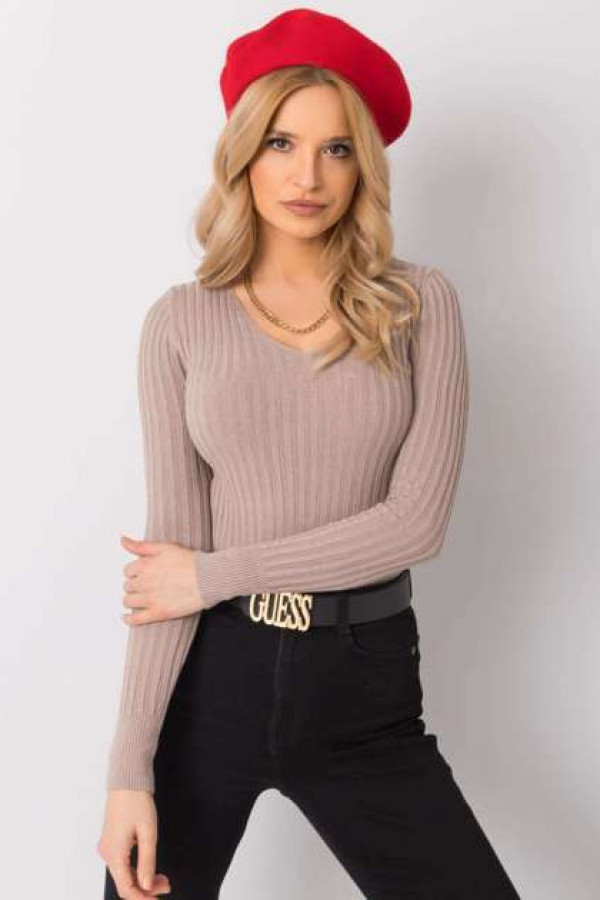 Beżowy sweter Ivy 1