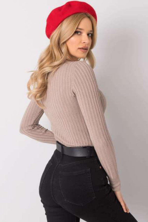 Beżowy sweter Ivy 2