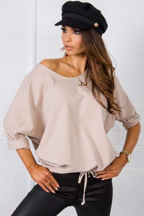 Beżowa bluzka Serafine