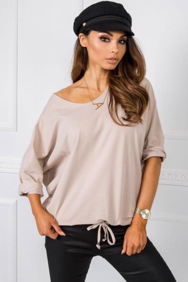 Beżowa bluzka Serafine 1
