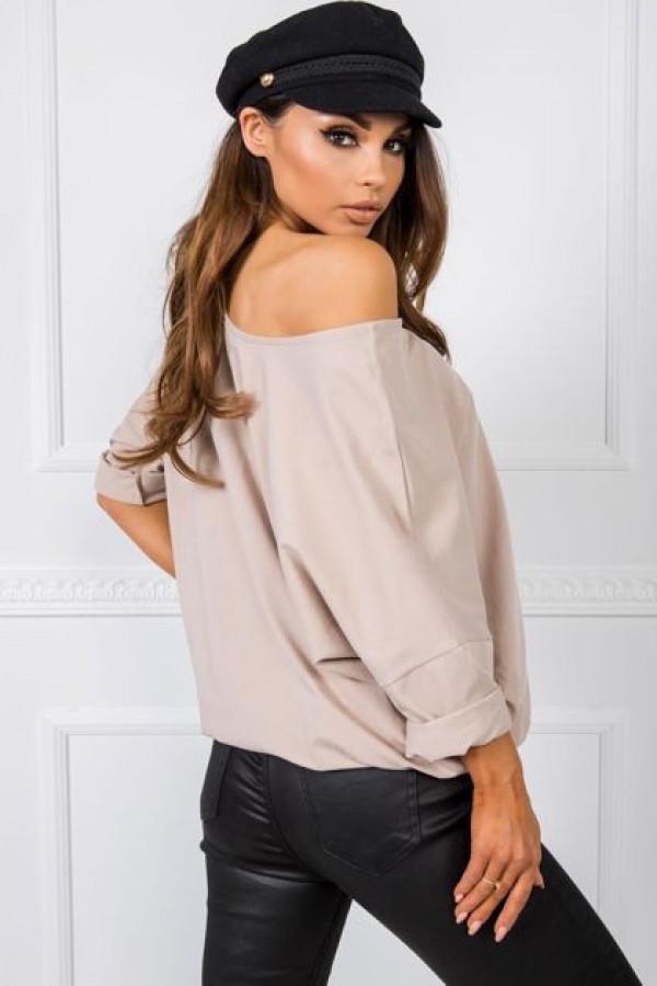Beżowa bluzka Serafine 2